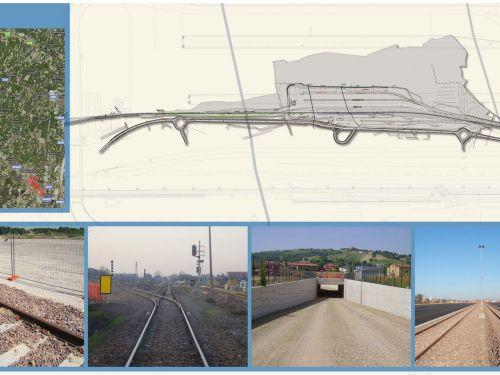 Lavori di realizzazione del nuovo Scalo Ferroviario di Dinazzano (RE)